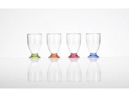 SKLENIČKY Juice Glass barevné