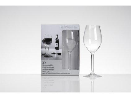 16281458 flamefield PC Standard Wine Glasses