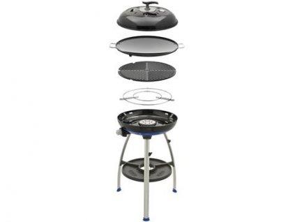 plynovy gril cadac carri chef 2 barbecue skottel