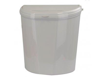 Odpadkový koš PILLAR XL - šedý