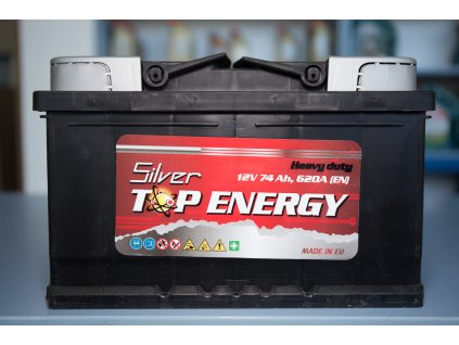Autobaterie Silver TOP ENERGY 74 Ah