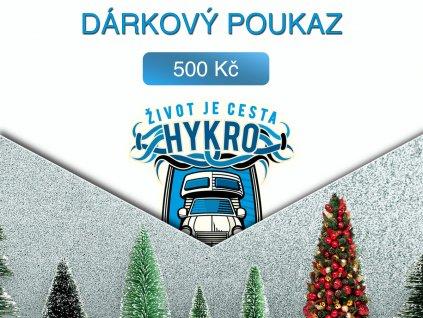 darkovy poukaz 500a