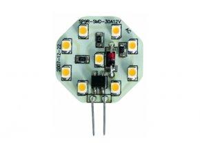 9LED SMD žárovka 10 - 30 V, 0,5 W, G4 (322/070)