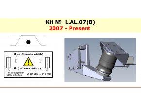 Dunlop vzduchové pérování pro Al-ko 2007-verze B