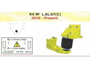 Vzduchové pérování Dunlop pro Al-ko 2007-verze C