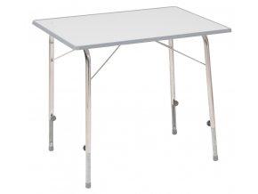 Dukdalf Stabilic 1 skládací kempový stolek světle šedý