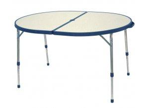 SKLÁDACÍ KEMPOVÝ STOLEK  Table Oval (611/187)