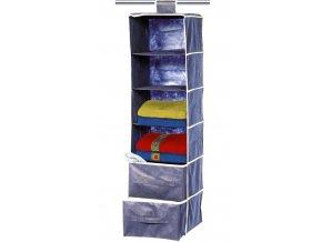 KEMPOVÝ ZÁVĚSNÝ REGÁL Hanging Shelf with Drawers (72 011)