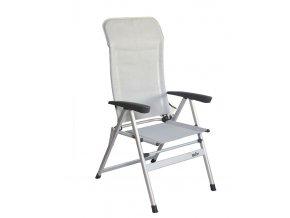 Bel-Sol kempová židle světle šedá