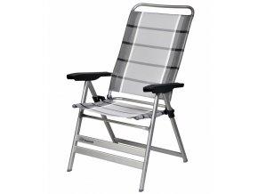 Dukdalf Grande kempová židle stříbrná/antracit
