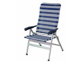 Crespo AL/238 kempová židle modrá/šedá