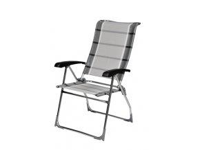 Dukdalf Aspen kempová židle antracit/stříbrná