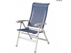 Dukdalf Cha Cha kempová židle tmavě modrá