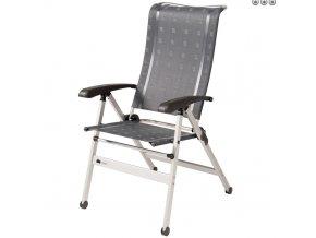 Dukdalf Cha Cha kempová židle antracit