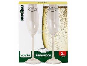 skleničky prosecco