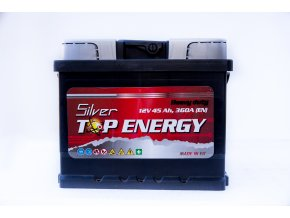 Autobaterie Silver TOP ENERGY 45 Ah