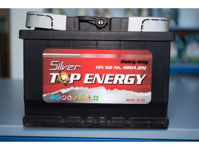 Autobaterie Silver TOP ENERGY 62 Ah