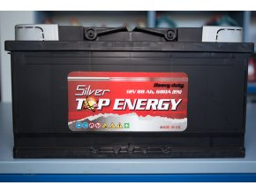 Autobaterie Silver TOP ENERGY 88 Ah