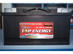 Autobaterie Silver TOP ENERGY 100 Ah