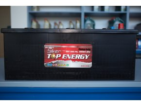 Autobaterie Silver TOP ENERGY 180 Ah
