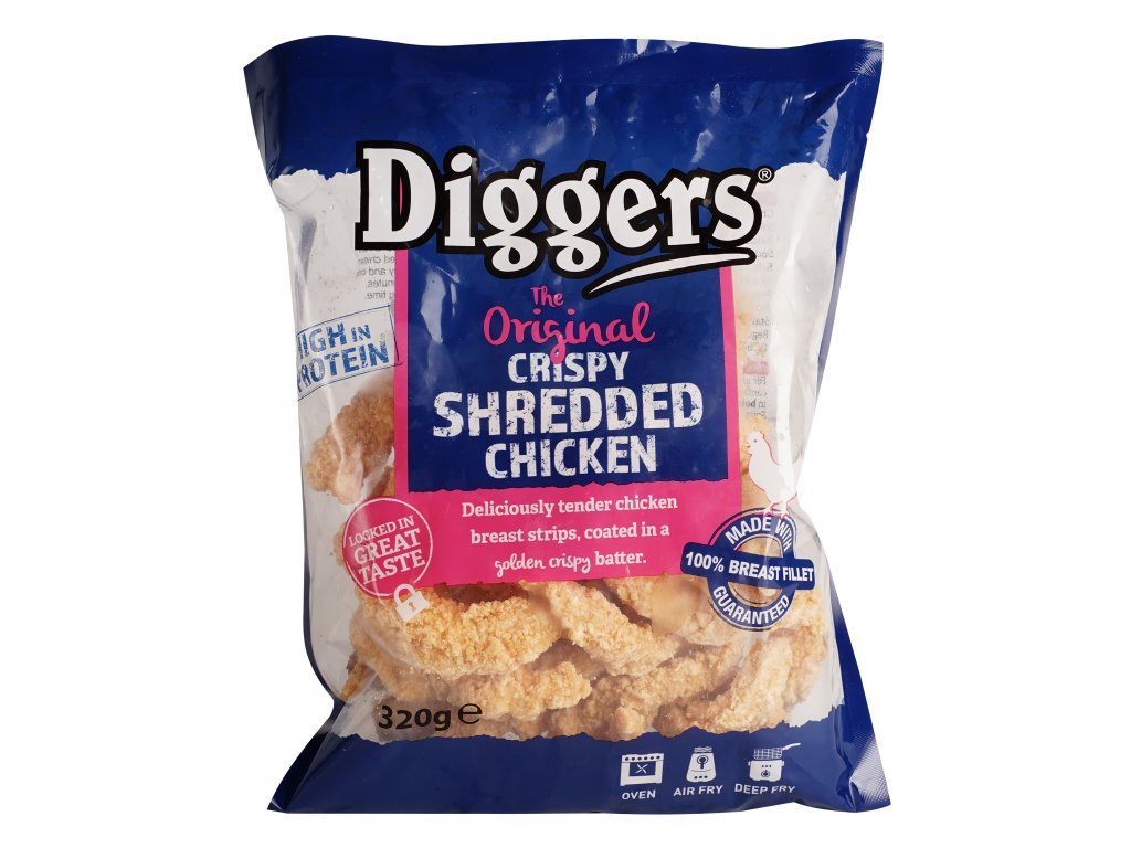 Diggers Original Cripsy sharedded chicken