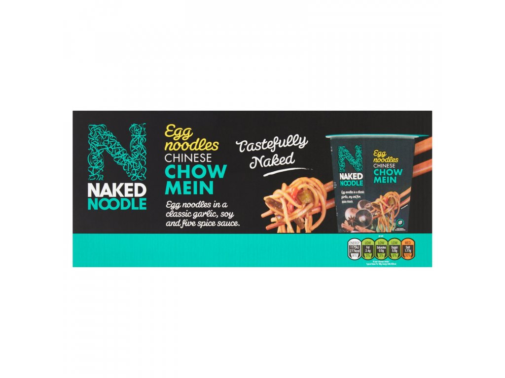 Naked Noodle 6pk Chow Mein 77053