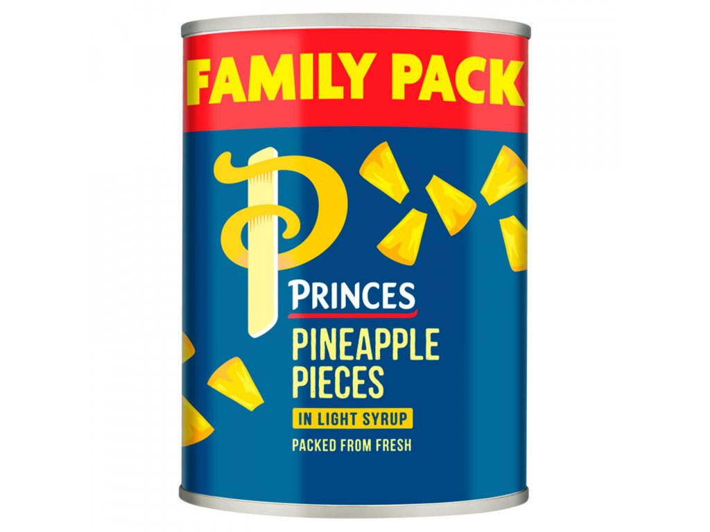 princes pineapple pieces in light syrup 565g 73000 T1