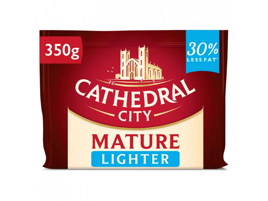 cathedral city mature lighter cheese 350g 67203 T596