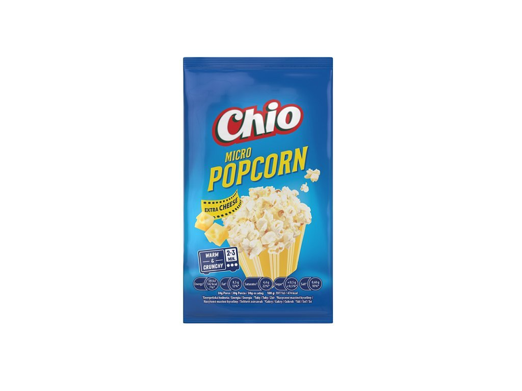 6728 Chio Microwave Popcorn Extra Cheese 80g
