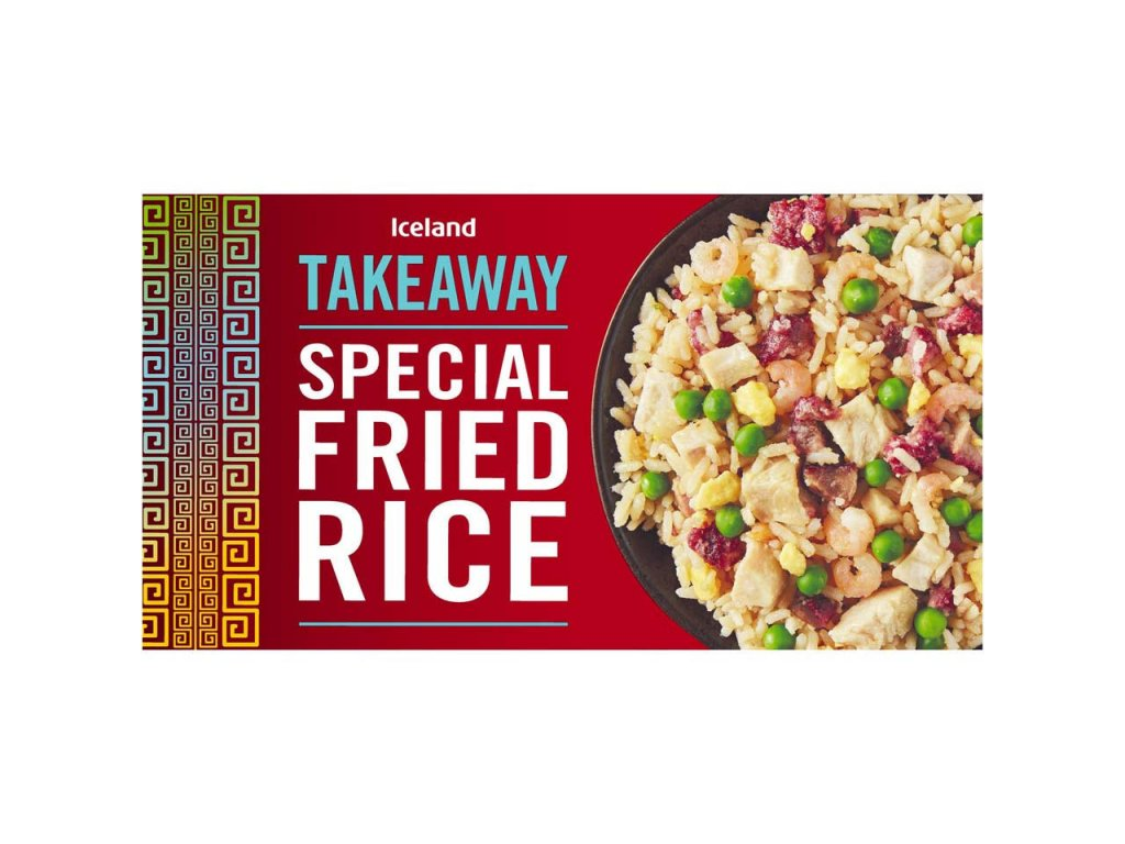iceland special fried rice 350g 38819