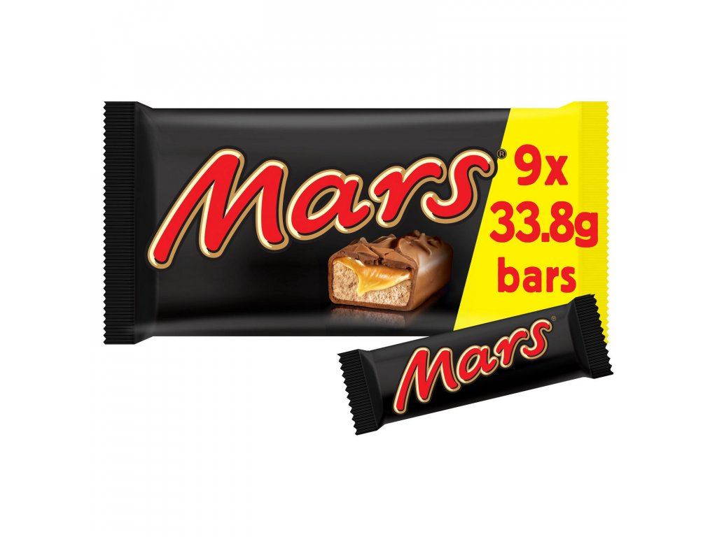 mars chocolate snack size bars multipack 9 x 338g 77221 T1