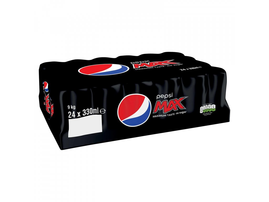 pepsi max cans 24 x 330ml 47908 T1