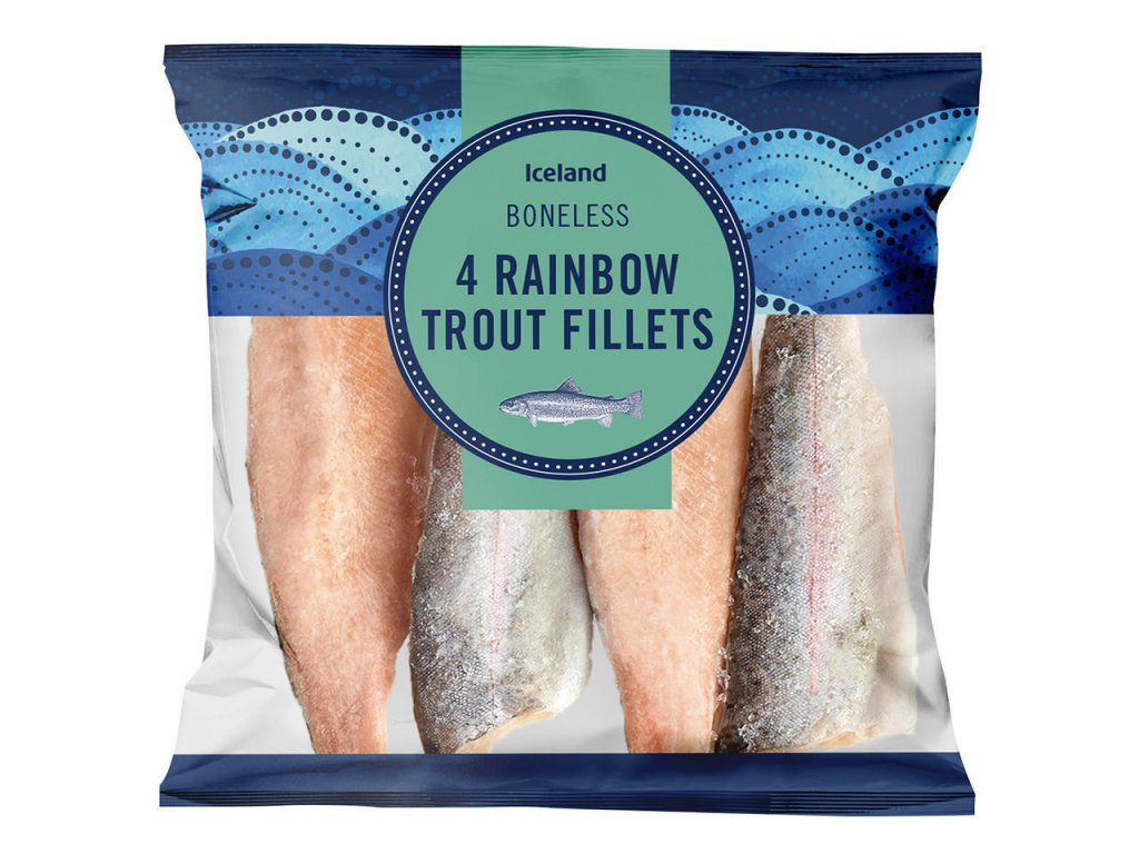 iceland 4 rainbow trout fillets 400g 68769