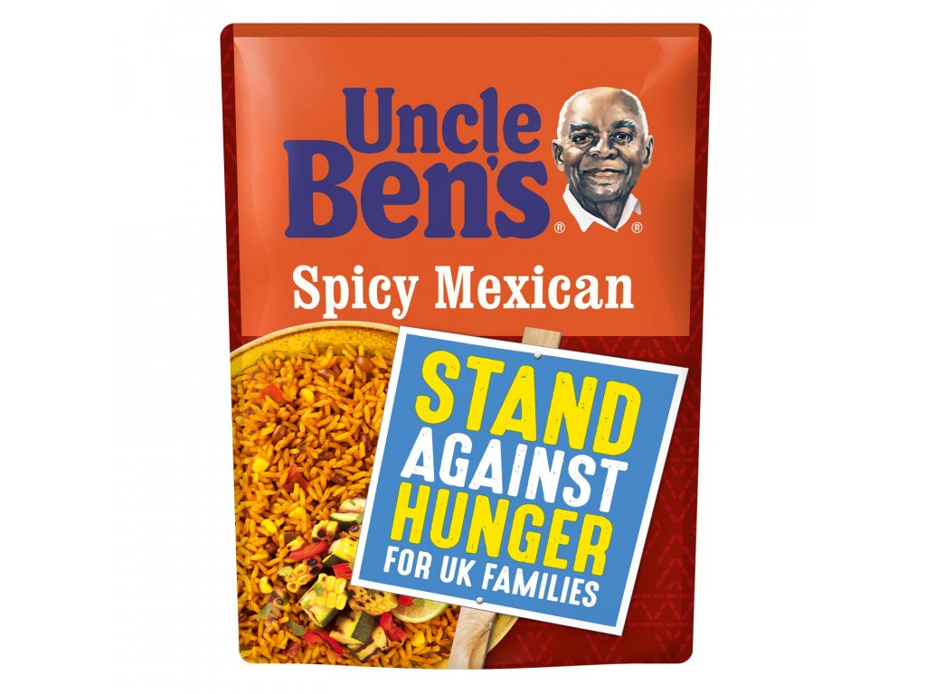 uncle bens spicy mexican microwave rice 250g 52775 T517