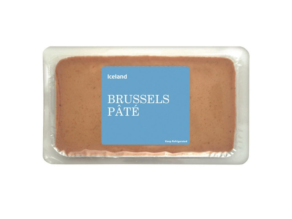 iceland brussels pate 170g 59620