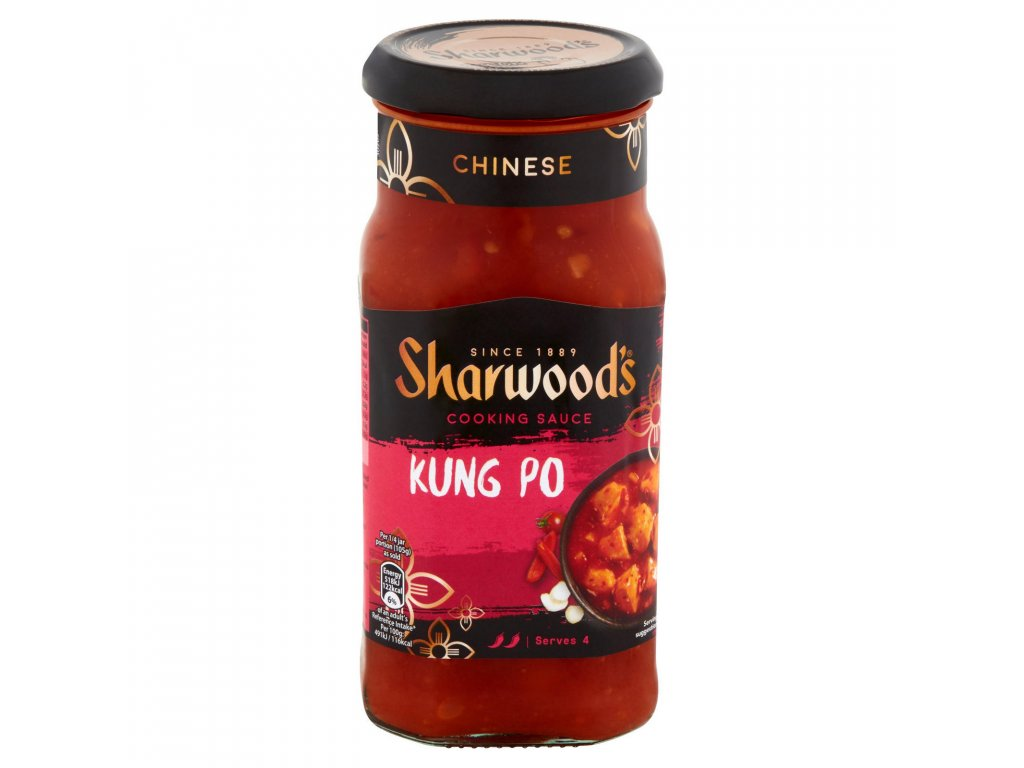 sharwoods kung po chinese cooking sauce 425g 65290 T5
