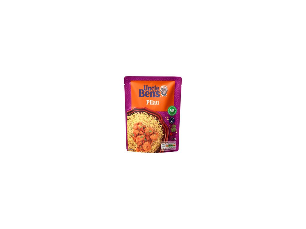 uncle bens pilau microwave rice 250g 46576 T1