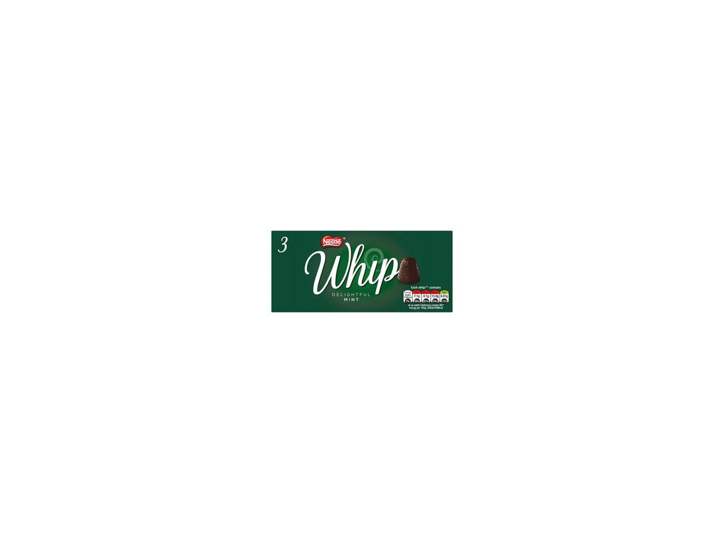 nestle whip dark chocolate mint multipack 266g 3 pack 70957 T1
