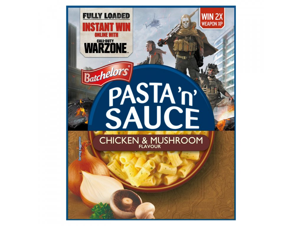 batchelors pasta n sauce chicken mushroom flavour 99g 58042 T1