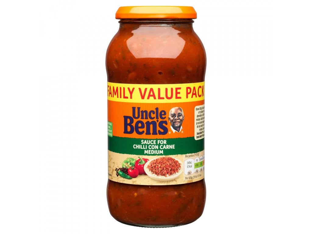 uncle bens sauce for chilli con carne medium 675g 62986 T1