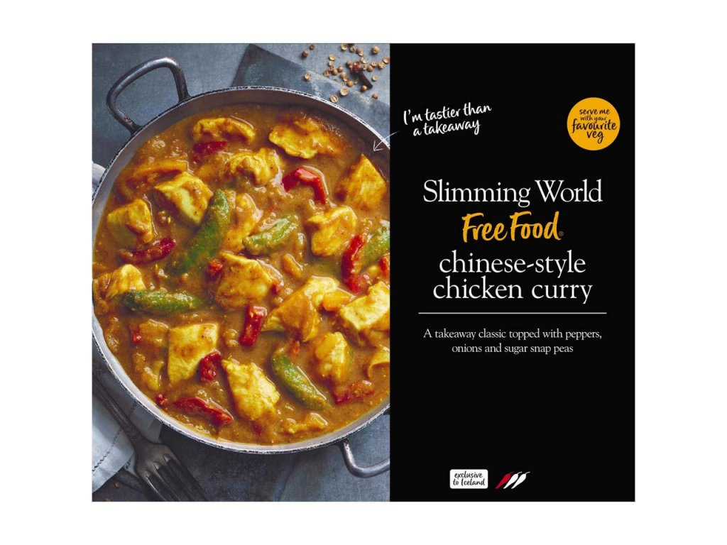 slimming world chinese style chicken curry 500g 76613