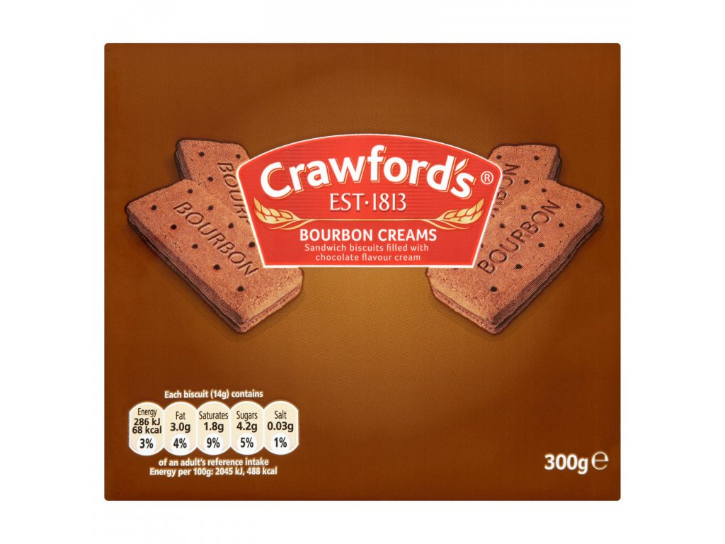 crawfords bourbon creams biscuits 300g 53598 T1