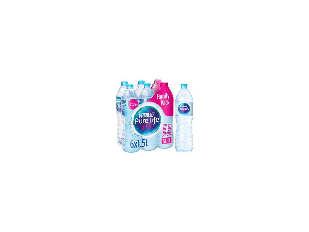 nestle pure life still spring water 6x15l 68953 T596