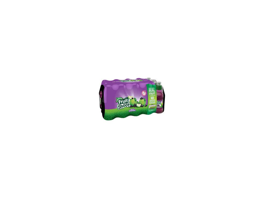 robinsons fruit shoot apple blackcurrant 15 x 200ml 72730 T1