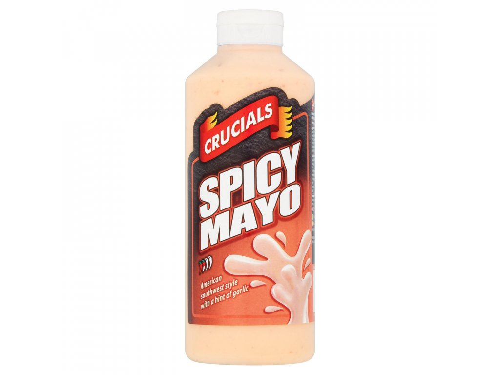 crucials spicy mayo dip dressing sauce 500ml 64688 T1