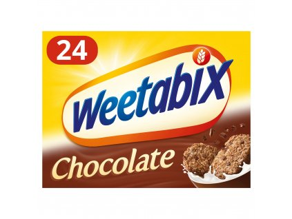 weetabix chocolate cereal 24 pack 52571 T596