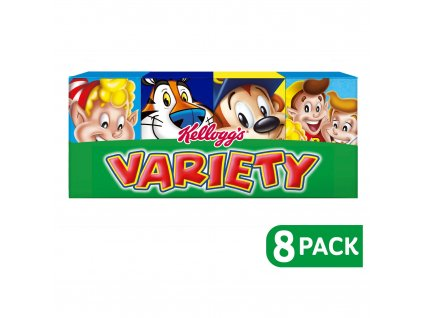 kelloggs variety pack cereal x8 5261 T1