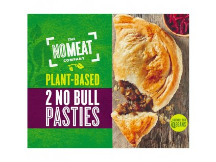 no meat 2 no bull pasties 400g 78764
