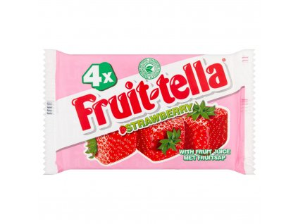 Fruittella 4pk Strawberry Sticks 54051