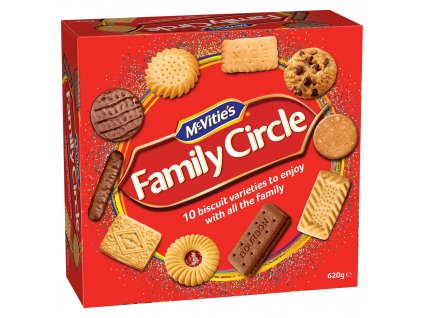 mcvities family circle biscuit assortment 620g 77594 T1
